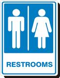 restroom signs